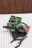 Movimentações de disco rígido Fotografia de Stock