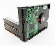 Movimentações do disco rígido do computador Fotos de Stock Royalty Free