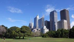 Movimentando-se no parque, Sydney, Austrália Foto de Stock