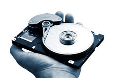 Movimentação do disco rígido do computador Fotos de Stock Royalty Free