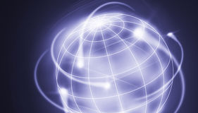 Movimenti internazionali Immagine Stock
