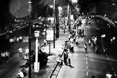 Movimenti lunghi di notte immagini stock