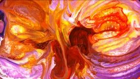 Movimento artistico liquido della pittura variopinta astratta archivi video