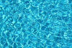 Movimento blu dell'acqua dolce Fotografia Stock Libera da Diritti