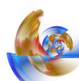Movimento circular ilustração royalty free