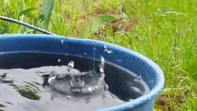 Movimento da água imagens de stock