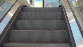 Movimento da escada rolante