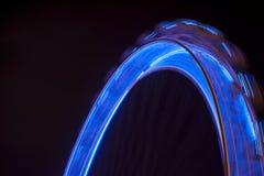 Movimento da roda de Ferris Imagem de Stock Royalty Free