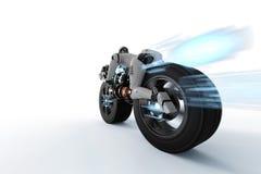 Movimento da velocidade do robô ilustração royalty free