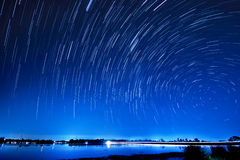 Movimento das estrelas Imagens de Stock Royalty Free
