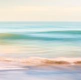 Movimento de onda do oceano imagens de stock
