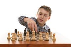 Movimento de xadrez Fotografia de Stock