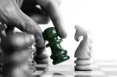 Movimento de xadrez imagem de stock