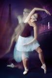Movimento del danzatore di balletto Fotografia Stock Libera da Diritti