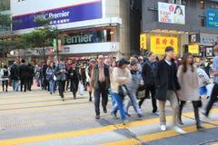 Movimento dell'ombrello in Hong Kong Immagini Stock Libere da Diritti