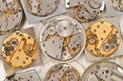 Movimento dell'orologio fotografia stock