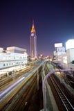 Movimento della stazione ferroviaria Immagine Stock Libera da Diritti