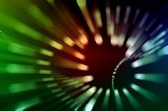 Movimento delle luci Fotografia Stock