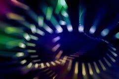 Movimento delle luci Fotografie Stock Libere da Diritti