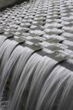 Movimento dello Spillway dell'acqua Fotografie Stock Libere da Diritti