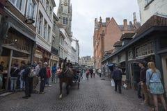 Movimento di Bruges Fotografia Stock Libera da Diritti