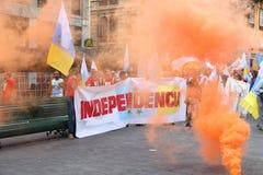 Movimento di indipendenza Immagine Stock Libera da Diritti