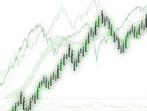 Movimento di prezzi di guadagno di profitto Immagine Stock Libera da Diritti