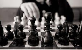 Movimento di scacchi Fotografie Stock Libere da Diritti