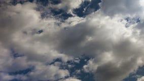 Movimento do céu das nuvens Timelapse video estoque