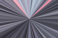 Movimento do crepúsculo da luz do carro no tom dramático O sumário irradia o fundo Teste padrão colorido do feixe das listras Mod ilustração stock