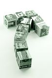 Movimento do dinheiro Fotografia de Stock Royalty Free