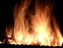Movimento do fogo Imagem de Stock