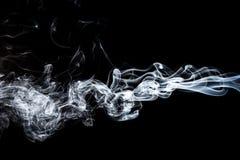 Movimento do fumo branco Fotos de Stock Royalty Free
