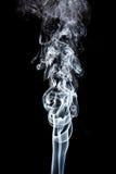 Movimento do fumo branco imagem de stock