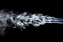 Movimento do fumo branco imagens de stock royalty free
