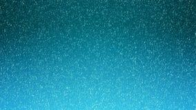 Movimento do gelo do pó branco que vem para baixo, isolado no preto, Projeto abstrato da nuvem de poeira de queda As partículas n ilustração stock
