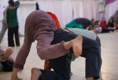 Movimento dos dançarinos Fotos de Stock