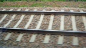 Movimento ferroviario del treno archivi video