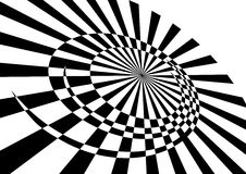Movimento giratório abstrato. Imagens de Stock Royalty Free