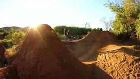 Movimento lento - BMX extremo Tailwhip filme