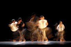 Movimento lento de desempenhos de teatro Imagens de Stock Royalty Free