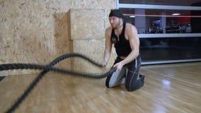 Movimento lento de formação muscular FDV da corda filme