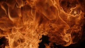Movimento lento dello scoppio di fuoco archivi video