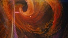 Movimento misturado do sumário do redemoinho da pintura do redemoinho da galáxia vídeos de arquivo