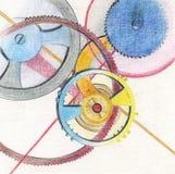 Movimento a orologeria illustrazione vettoriale