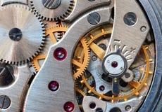 Movimento a orologeria fotografie stock