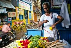 Movimento sulle vie dell'India Immagini Stock Libere da Diritti