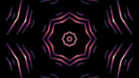 Movimento universal do feriado novo movente cor-de-rosa macio abstrato da qualidade da animação do fundo do bloco do pixel do cír ilustração do vetor