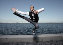 Movimentos frescos da dança Fotografia de Stock