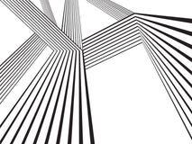 Movimiento óptico del diseño de la raya de la onda del mobius del efecto Fotografía de archivo libre de regalías